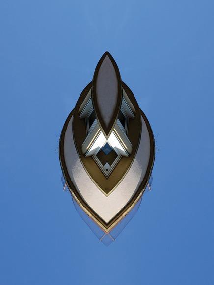 Céleste #8 - 2016 - impression numérique contre-collée sur dibond - 80 x 60 cm