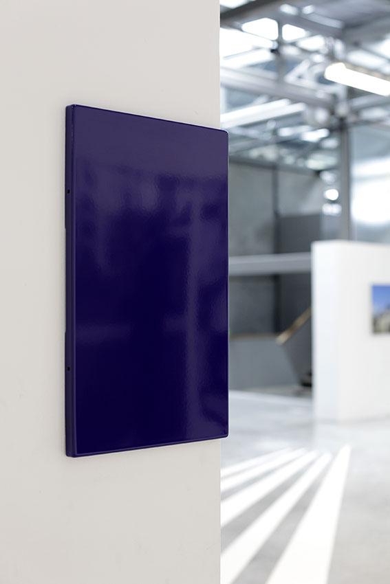 Sans titre - 2013 - plaque de rue émaillée, 50 x 30 x 2 cm