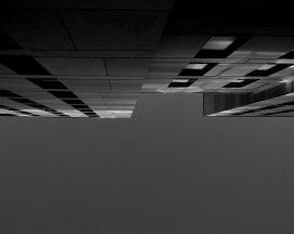Spaceship #2 - 2018 - photographie noir et blanc, papier photo argentique lustré, impression jet d'encre - 50 x 40 cm