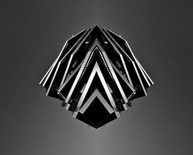 Spaceship #4 - 2018 - photographie noir et blanc, papier photo argentique lustré, impression jet d'encre - 50 x 40 cm