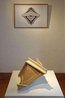 CHTX 1 - 2017 - Réalisé dans le cadre d'une résidence à l'Ecole Municipale des Beaux-Arts de Châteauroux, Collège Marcel Duchamp - vue d'exposition - 2019 - Espace Gainville - Aulnay-sous-Bois