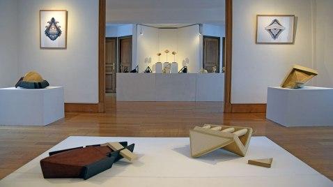Réciproque - 2019 - vue d'exposition, salle premier étage - Espace Gainville - Aulnay-sous-Bois