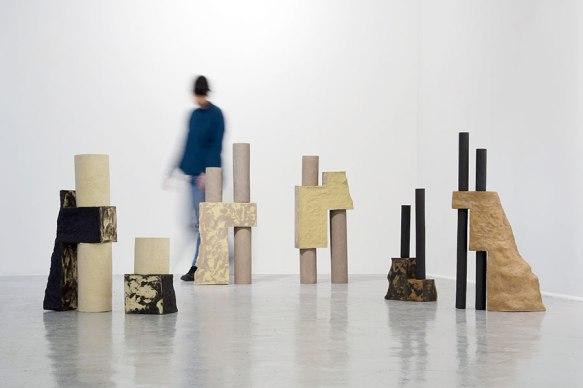 """""""Architectures sédimentaires"""" - 2019 - vue d'installation"""