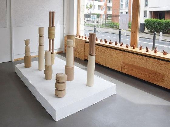 Les feus lotis (2019) et Signalétiques néoclassiques (2019) - vue d'exposition – 2019 – La Forme – Le Havre